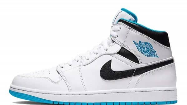 Air Jordan 1 Mid SE Laser Blue 554724-141