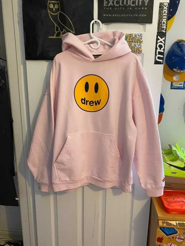 ao-drew-house-mascot-pink-hoodie