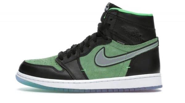 Air Jordan 1 High Zoom 'Zen Green' SKU: CK6637 002