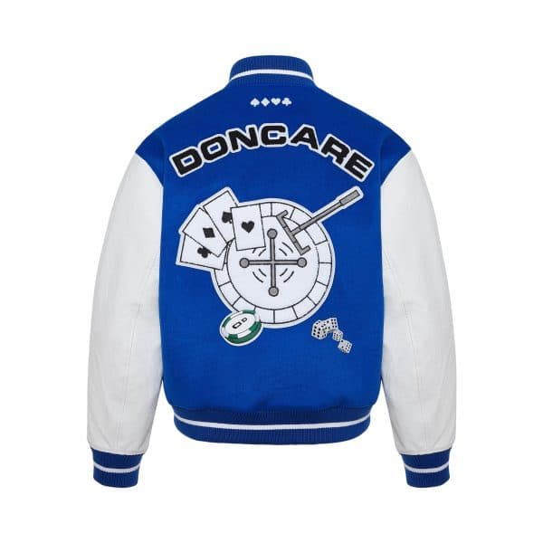 DONCARE CASINO JACKET BLUE