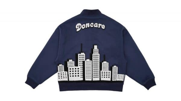 DONCARE CITY VIEW COLLAGE JACKET