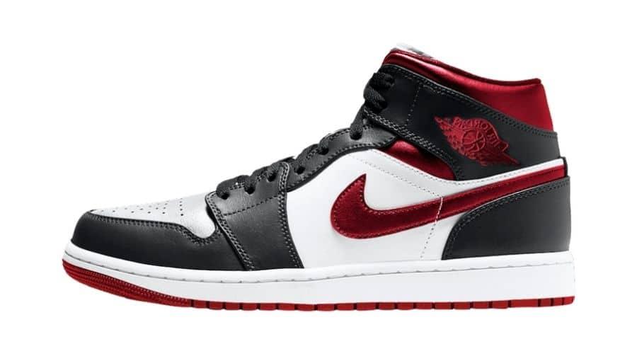 Air Jordan 1 Mid Metallic Red 554724-122