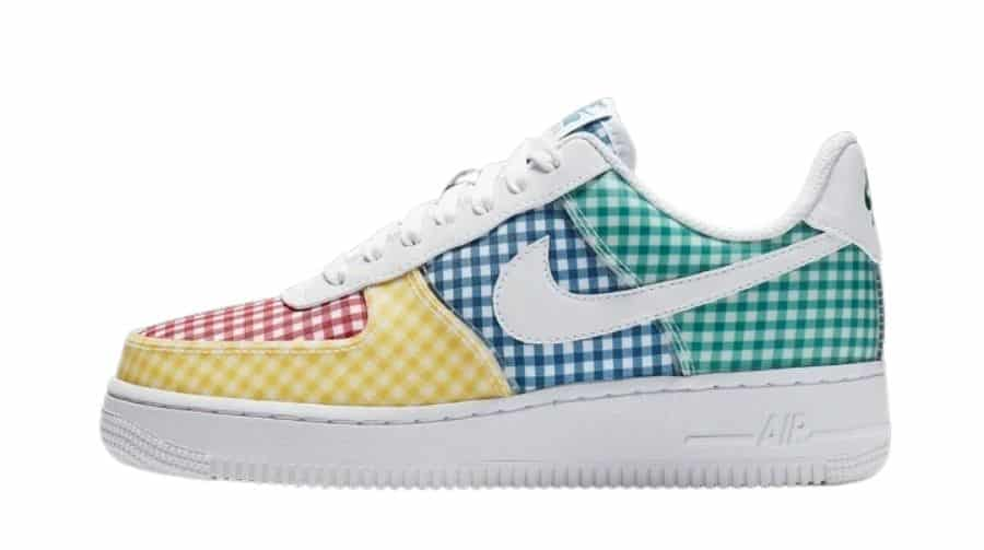 Nike Wmns Air Force 1 Low QS 'Gingham Pack - Multicolor' BV4891-100