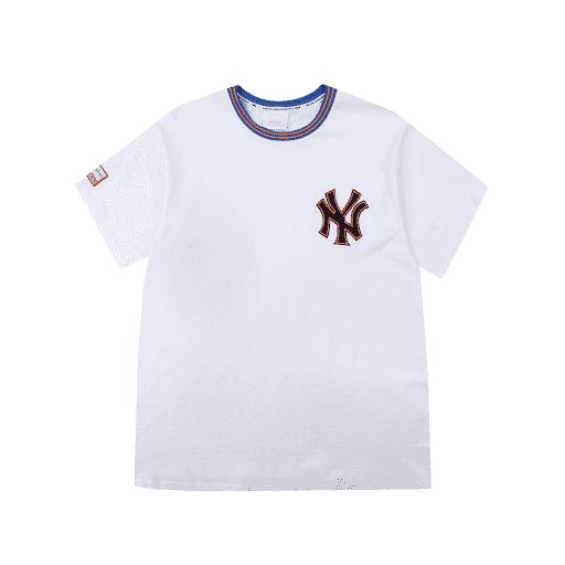 ao-phong-mlb-new-york-yankees-coopers-tab-short-sleeve-white