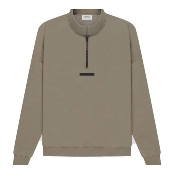 ao-sweater-fear-of-god-essentials-half-zip-taupe