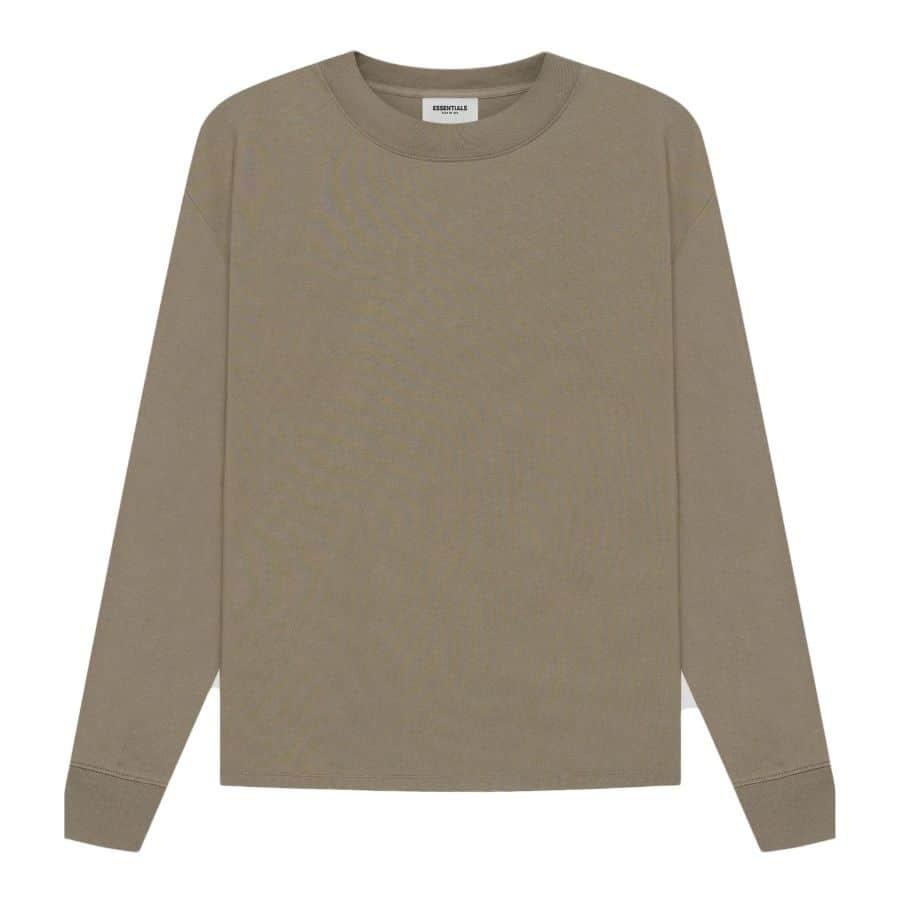 ao-thun-fear-of-god-essentials-long-sleeve-t-shirt-ss21-taupe