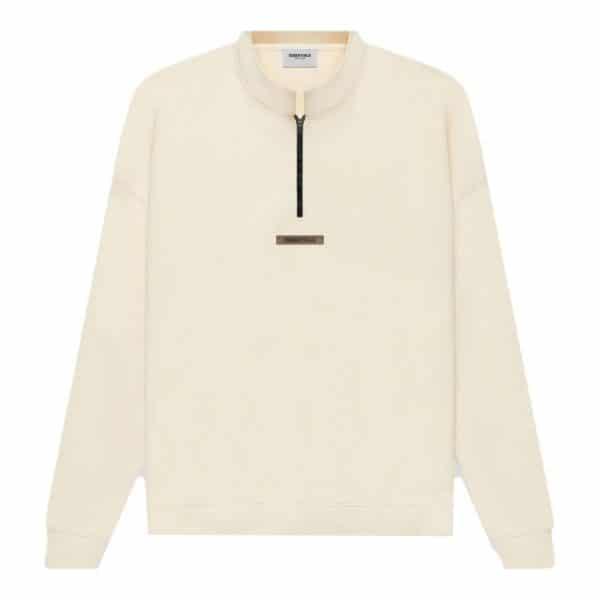 ao-sweater-fear-of-god-essentials-half-zip-Cream-Buttercream