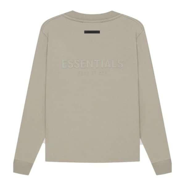 ao-thun-fear-of-god-essentials-long-sleeve-t-shirt-ss21-Moss-Goat