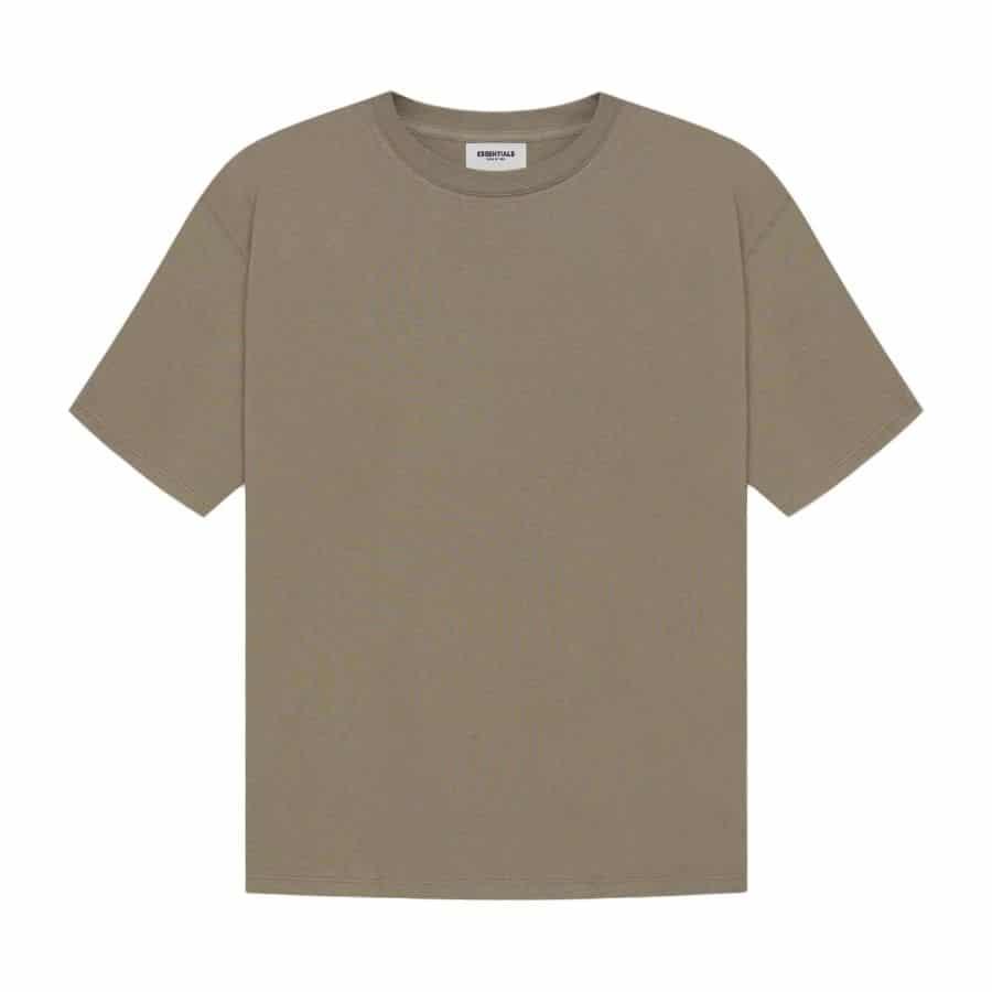 ao-thun-fear-of-god-essentials-t-shirt-ss21-Taupe