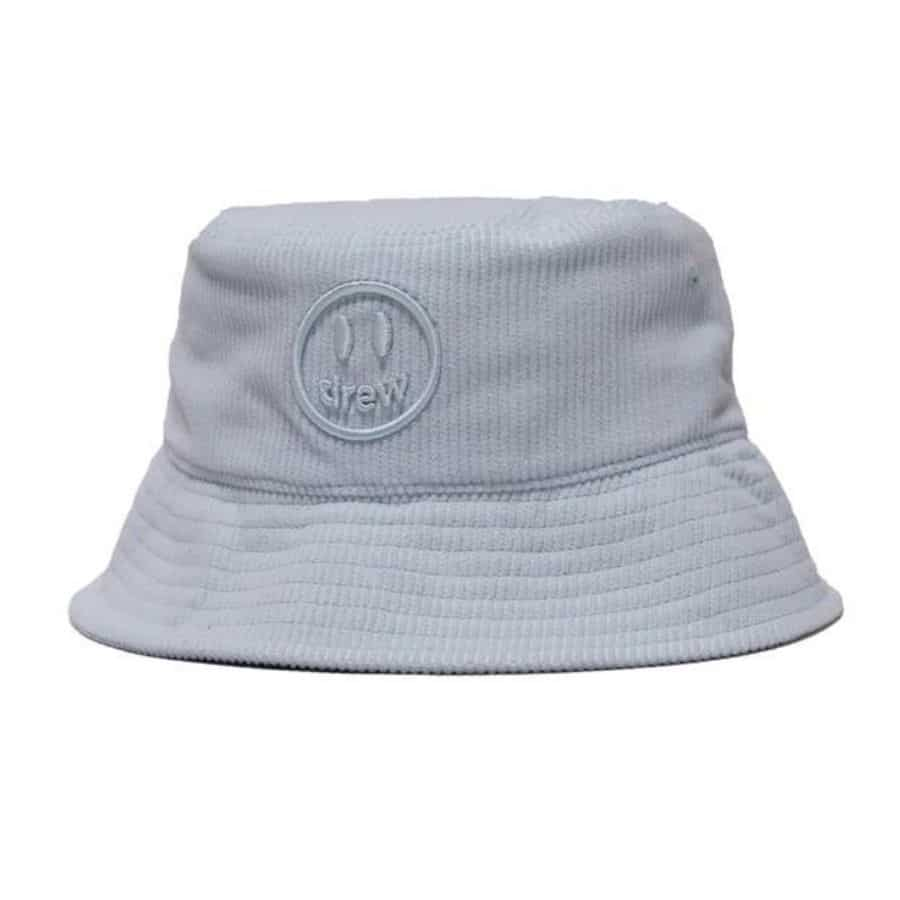 mu-drew-house-mascot-corduroy-bucket-hat-baby-blue
