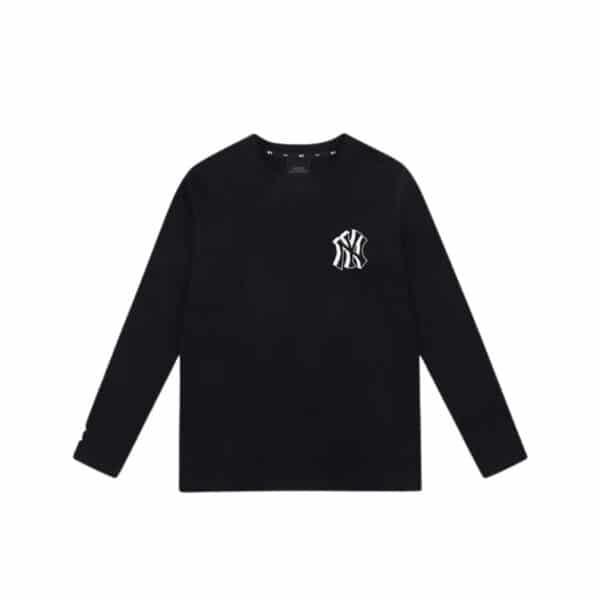 ao-thun-mlb-long-sleeve-like-popcorn-new-york-yankees-black-31tspl111-50l